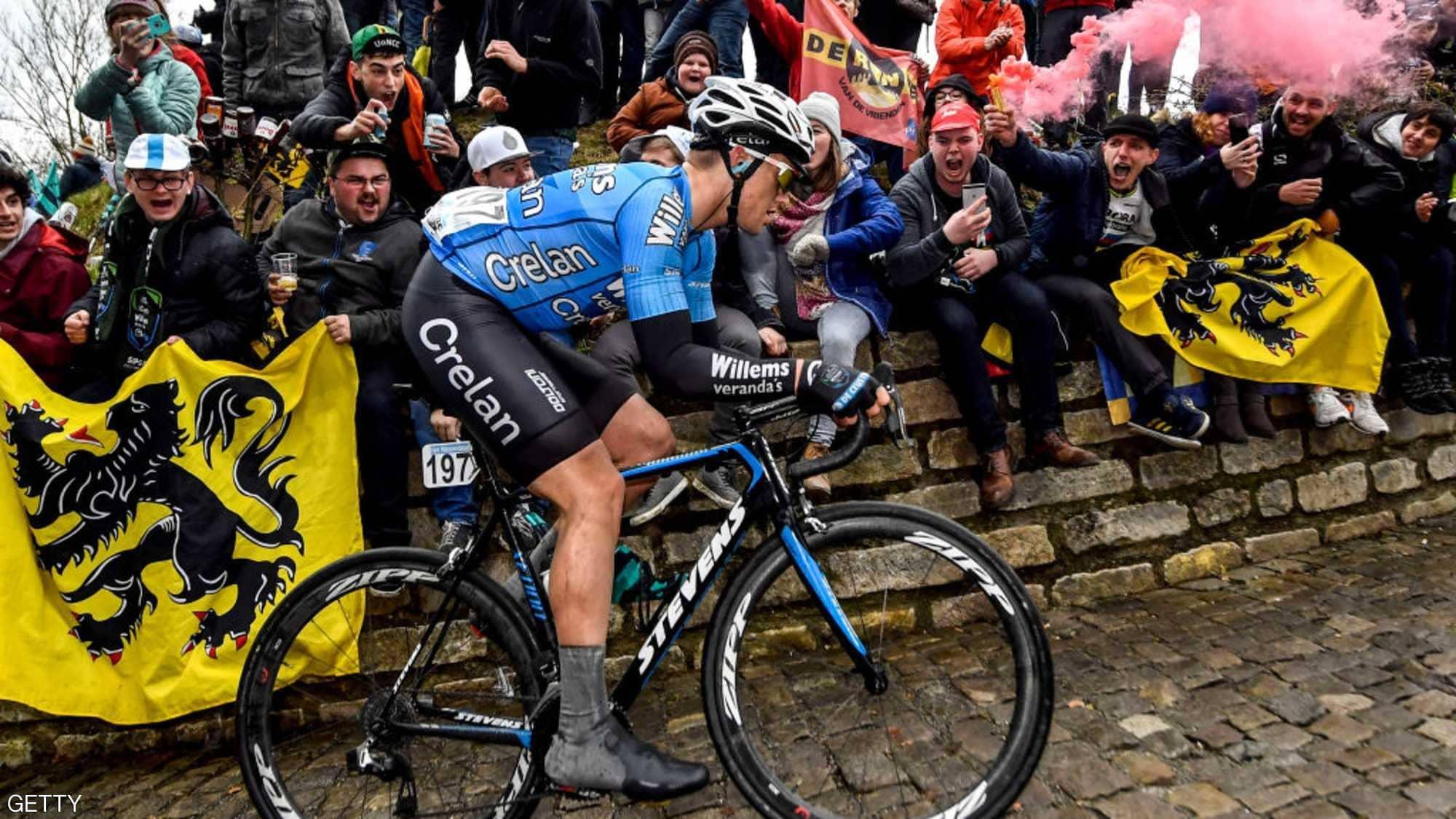 وفاة دراج بلجيكي بعد سقوطه خلال طواف في فرنسا