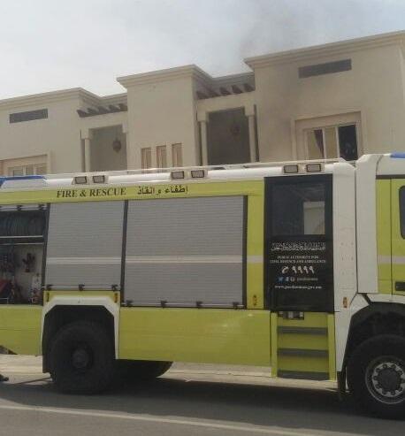 إخماد حريق شب في منزل بالسيب.. ولا إصابات