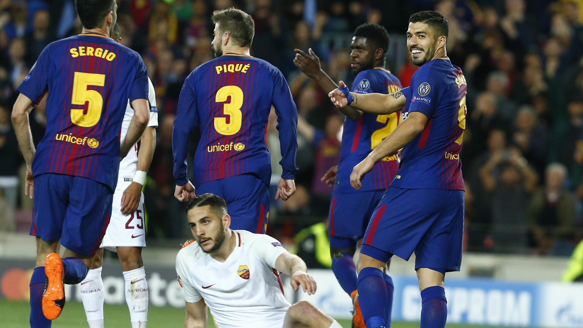 غدا.. برشلونة يلتقي روما والسيتي يستضيف ليفربول بدوري الأبطال