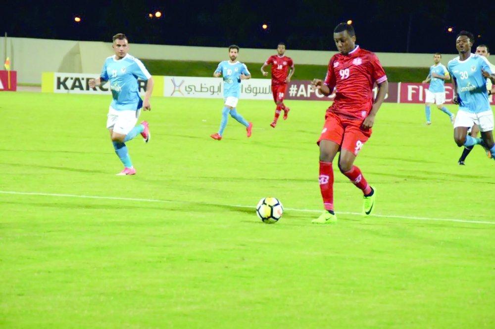 ظفار يتعادل مع الأنصار بالجولة الخامسة في كأس الاتحاد الآسيوي