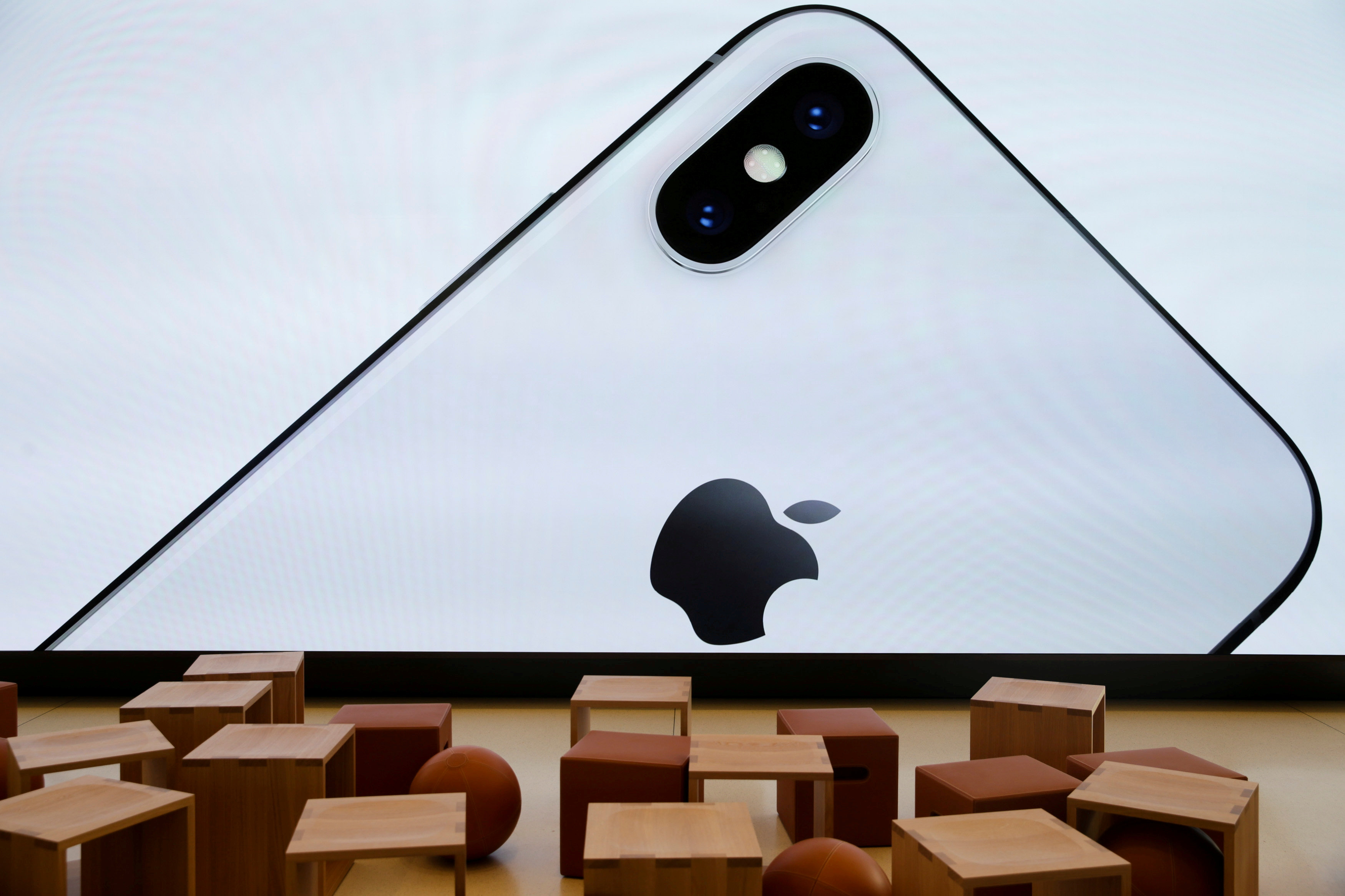 Investors look to Apple's cash, services as iPhone sales seen stalling