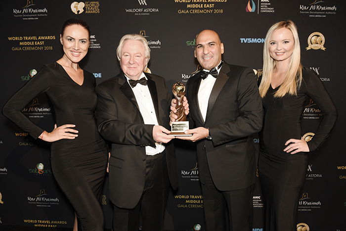 Crowne Plaza Resort Salalah bags the World Travel Awards