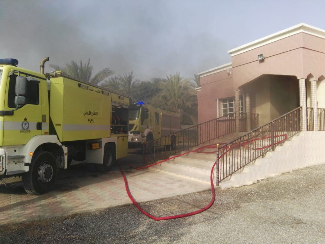 Ten fires break out in three days across Oman