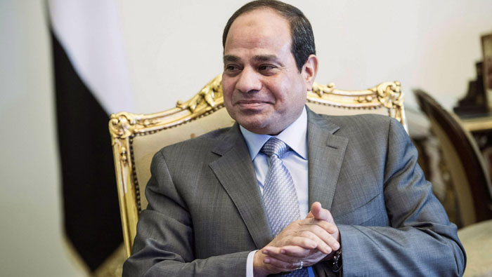 Egypt's president pardons over 330 mostly youth prisoners