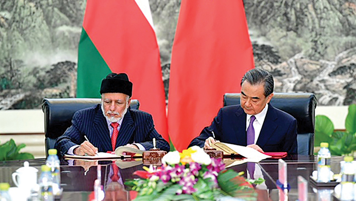 Oman, China sign MoU for Silk Road initiative