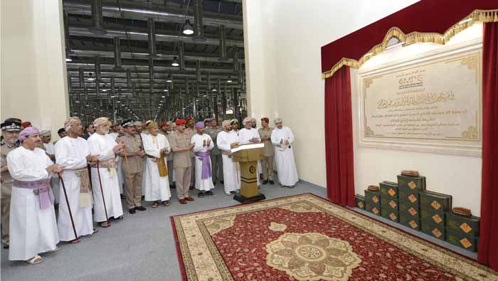 Light munition plant opened, to meet Oman needs