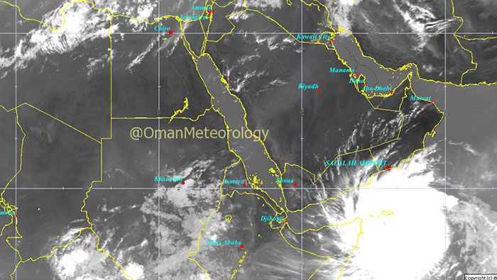 Here's how tropical storm 'Mekunu' could affect Oman over the next three days