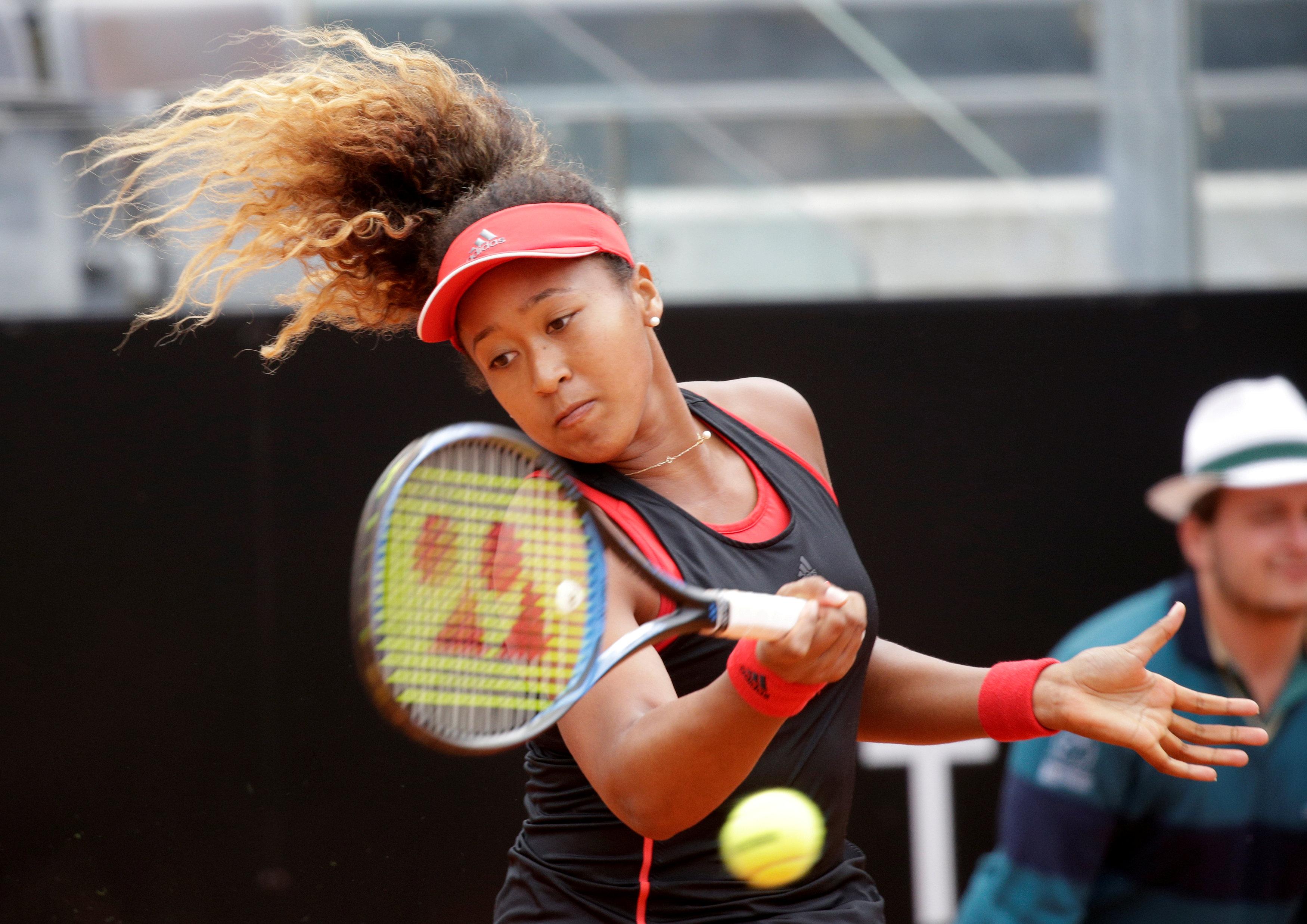 Tennis: Naomi Osaka on the climb, aiming high in Paris