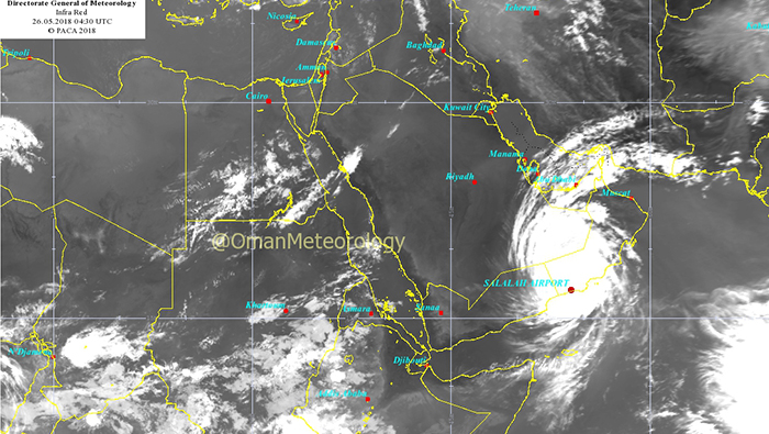As it happened: Cyclone Mekunu makes landfall in Oman, four killed