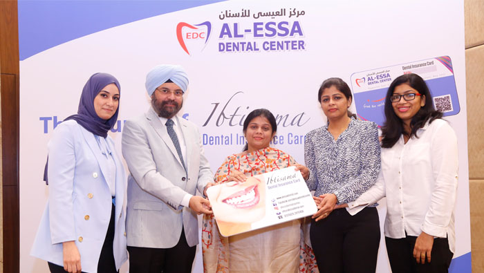 Insurance card for cheaper services at Essa Dental Clinic