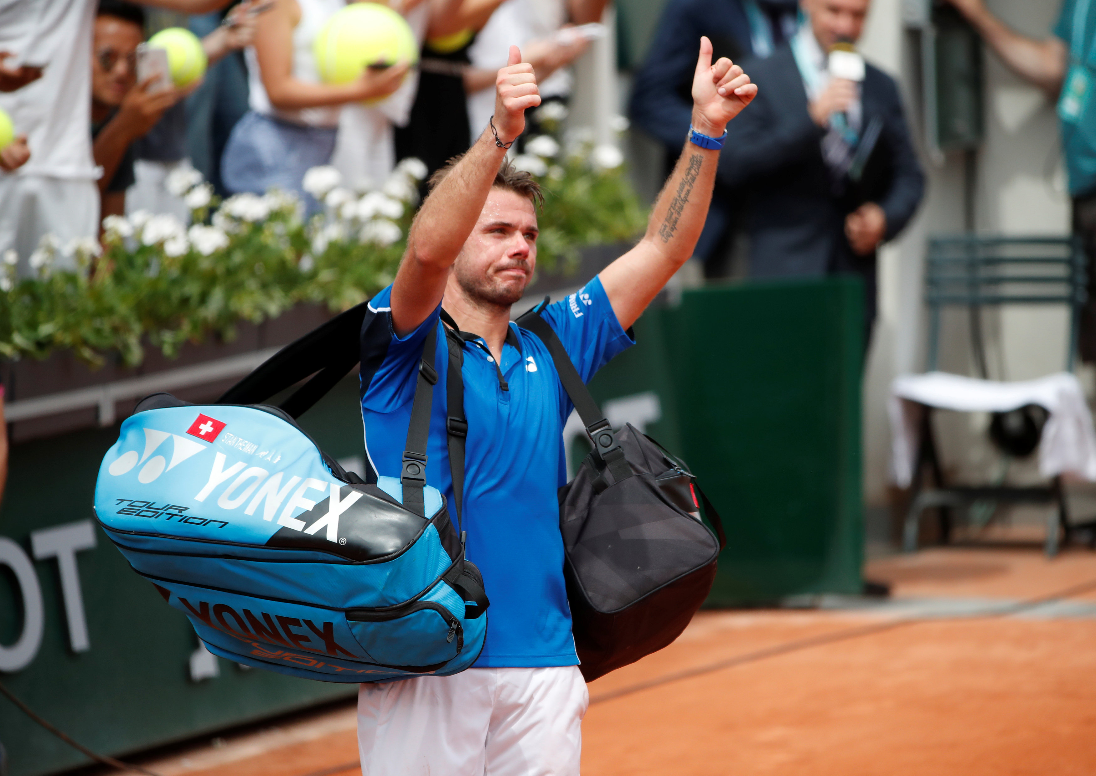 French Open: Wawrinka determined to reclaim place among elite