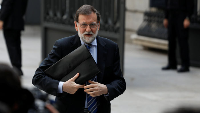 Spanish PM Rajoy to face confidence vote on Friday