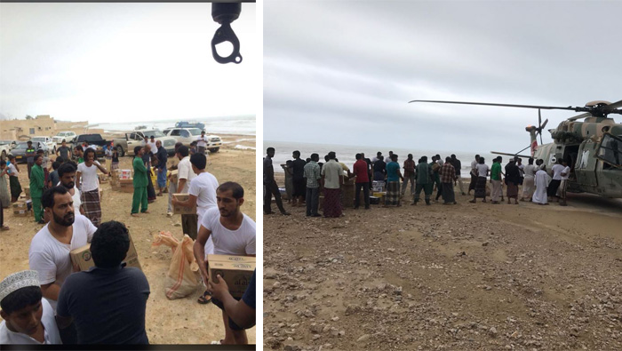Donations pour in for cyclone-hit Dhofar and Al Wusta