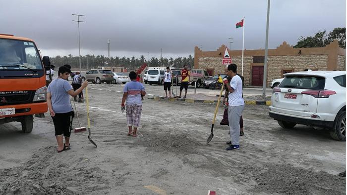 Cyclone Mekunu: 'We are working hand-in-hand' to help Dhofar