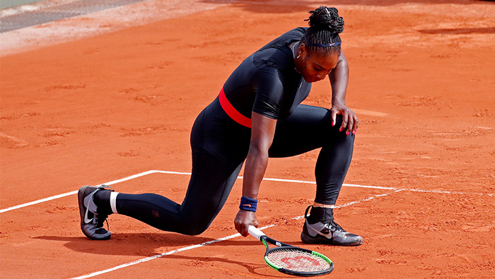Tennis:Serena takes on Barty in French Open second round