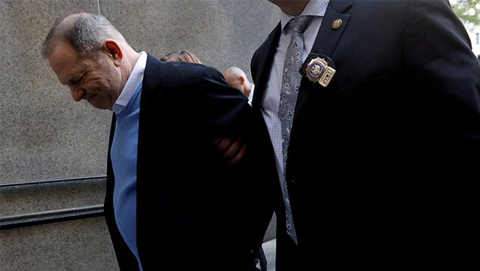 Film producer Weinstein indicted for rape -New York prosecutor