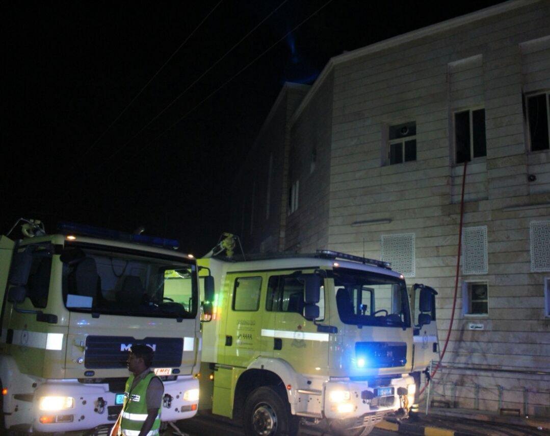 وفاة طفلين بحريق سكن إمام مسجد في صحار