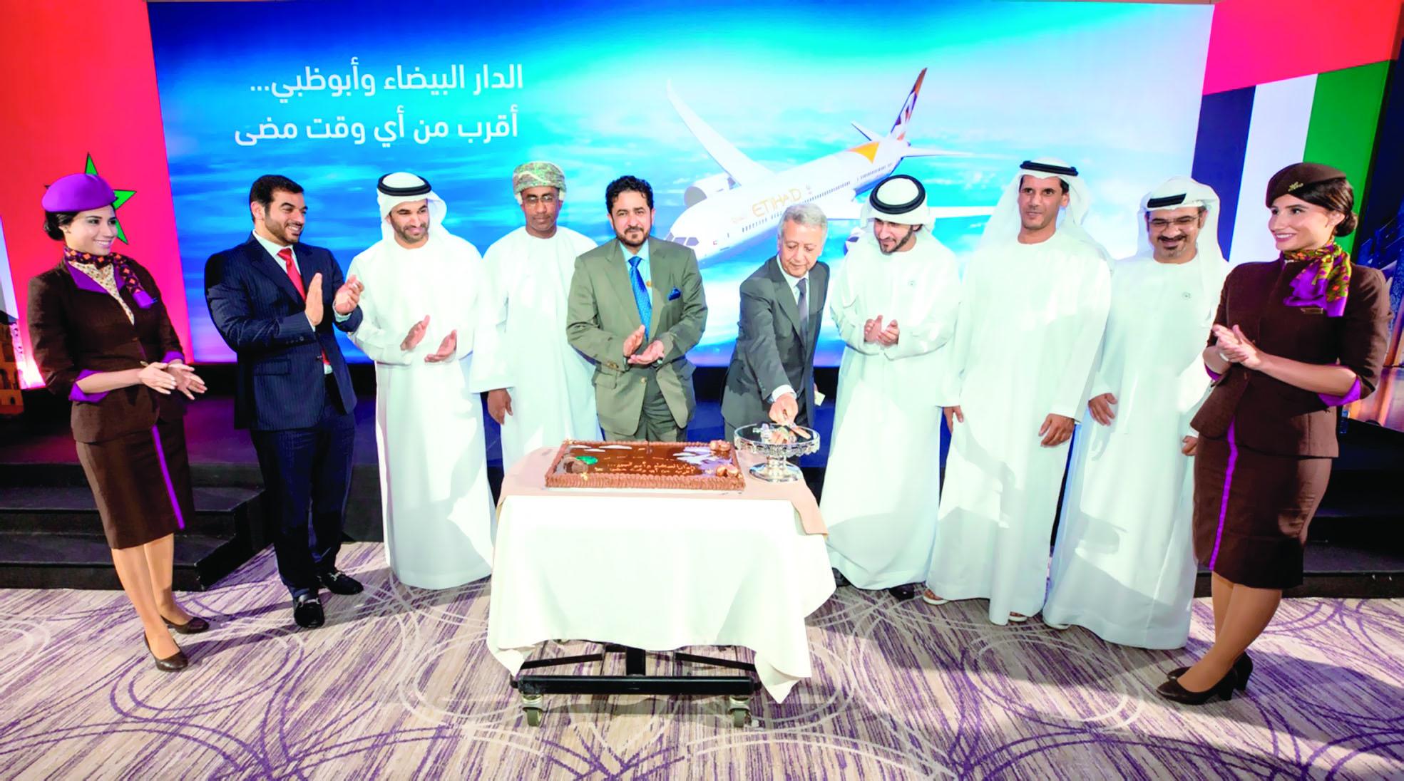«الاتحاد» تخصص طائرة «دريملاينر» لرحلات الدار البيضاء