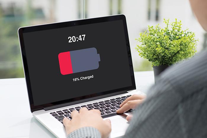 Laptop battery usage tips