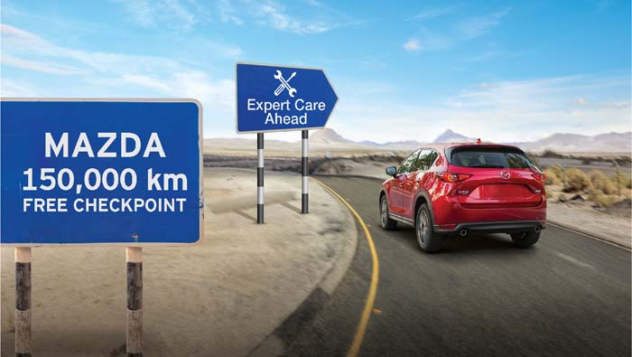 TAC launches 150,000km service & parts offer for Mazda car owners