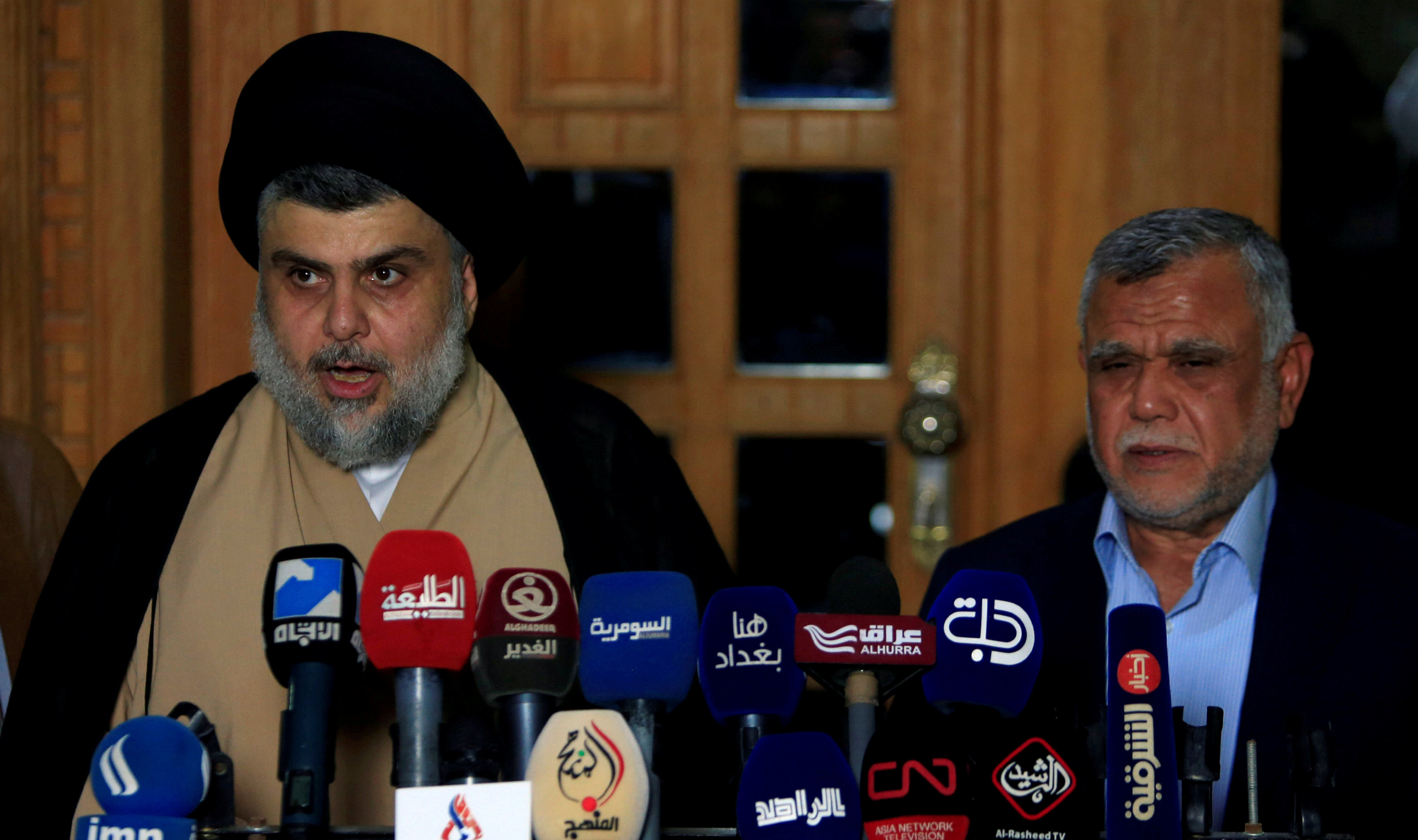 Sadr and Amiri set to lead talks on new government in Iraq
