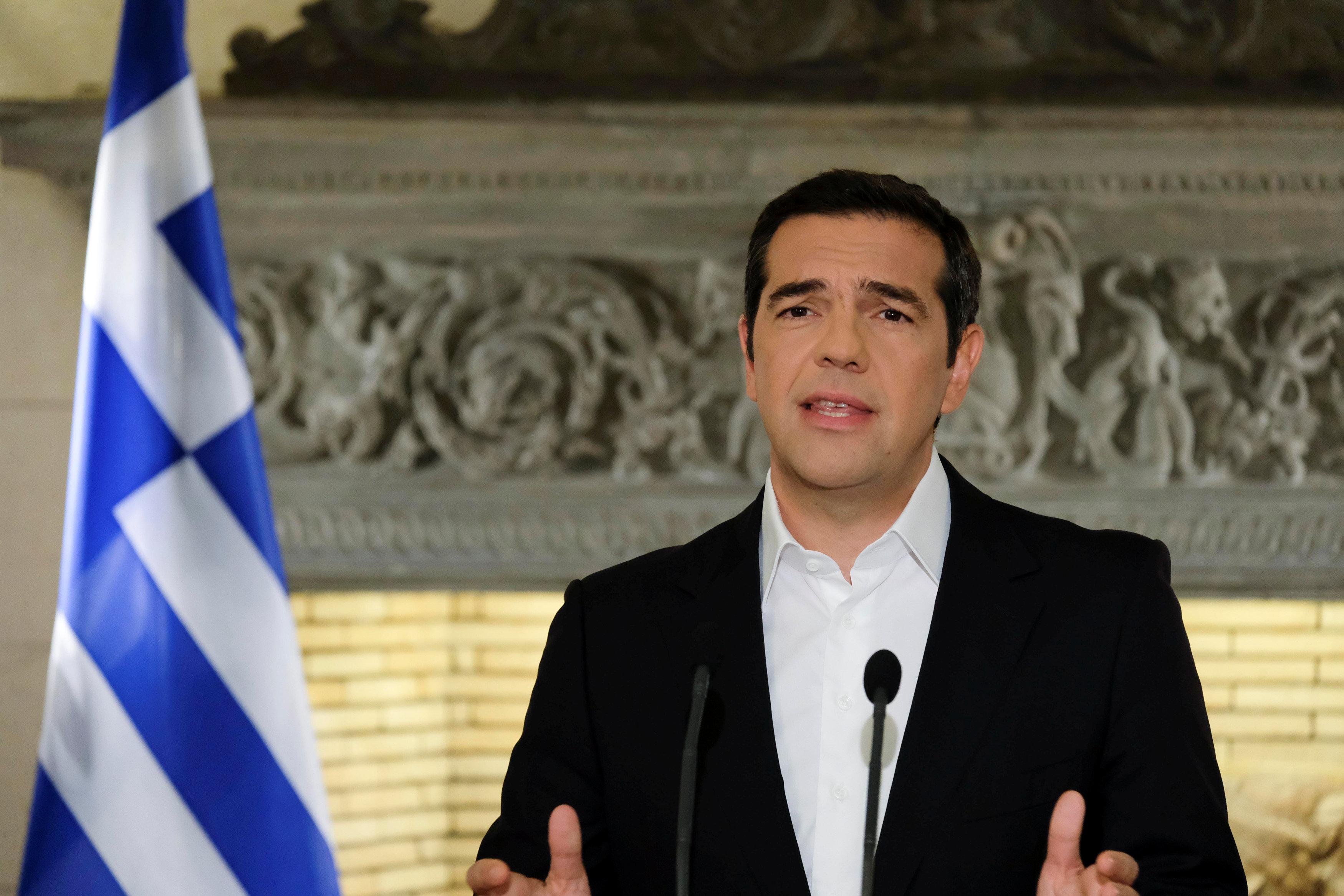 Greek premier faces backlash over Macedonia name deal