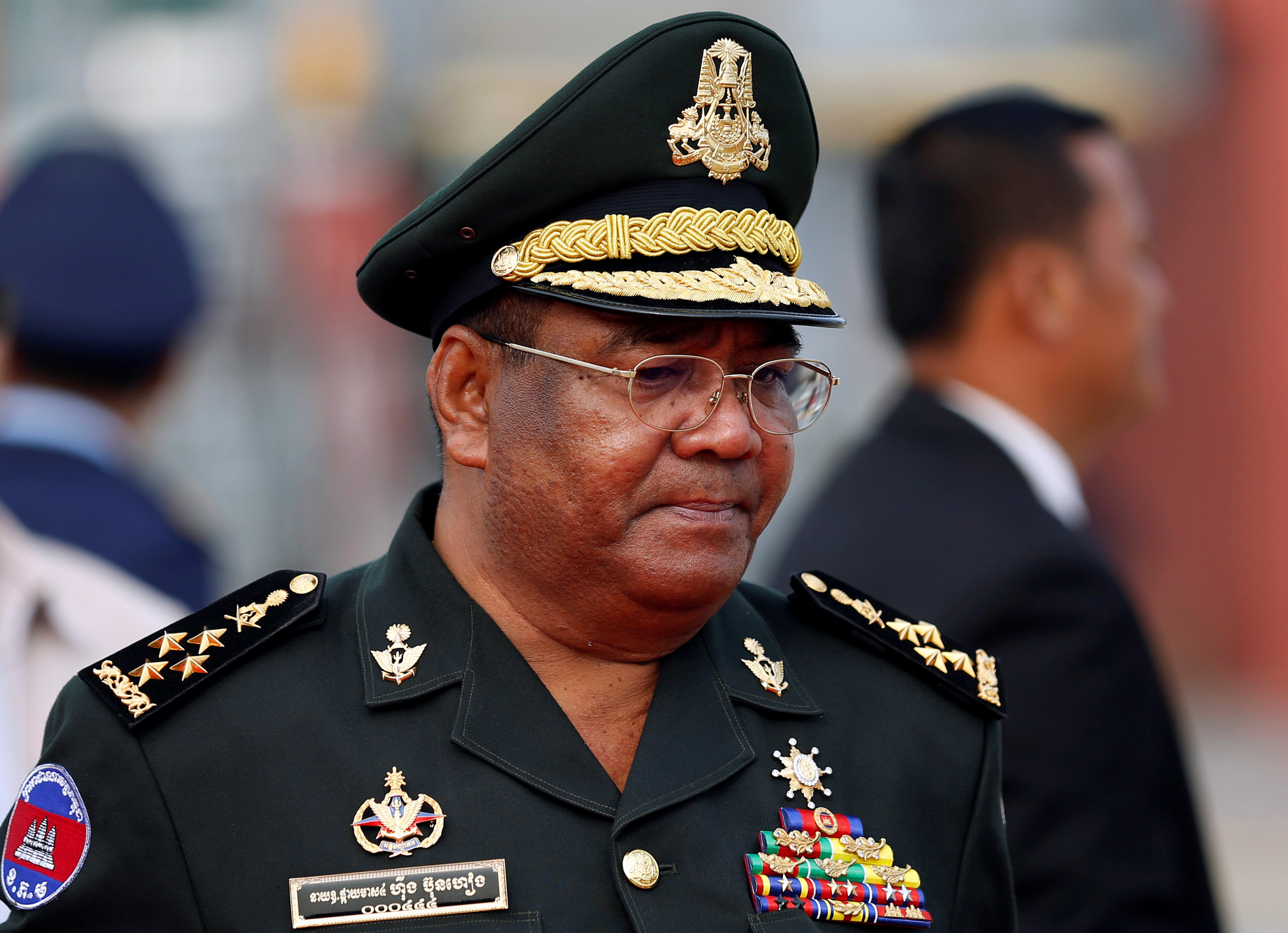 US sanctions Cambodia premier's top bodyguard over rights abuses