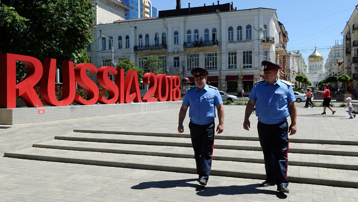 Militias guarding World Cup have links to Kremlin's foreign wars