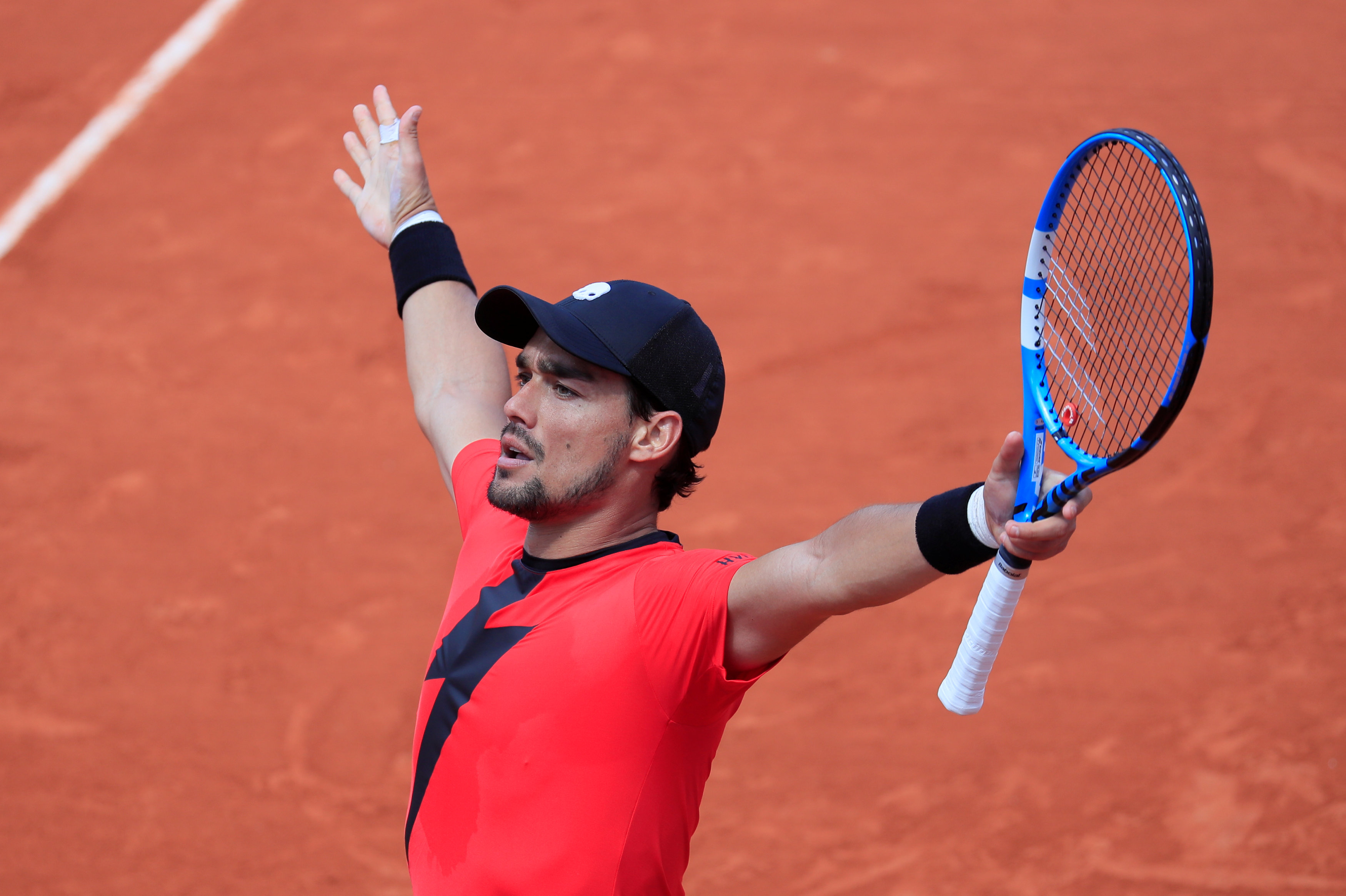 French Open: Fognini outlasts Edmund to reach last 16