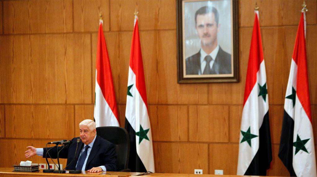 Syria seeks to recapture southwest: Moualem