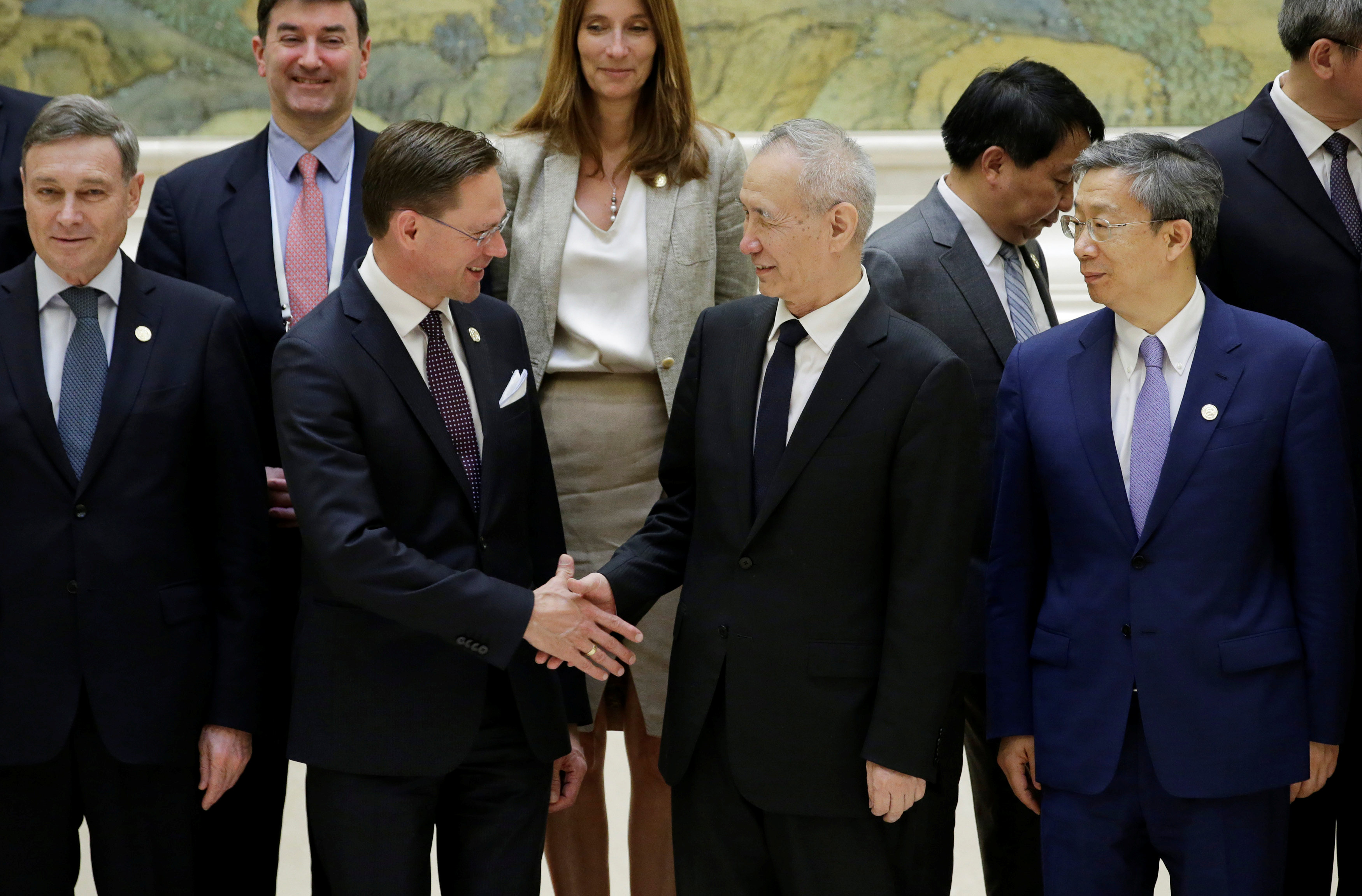China, EU agree to fight protectionism