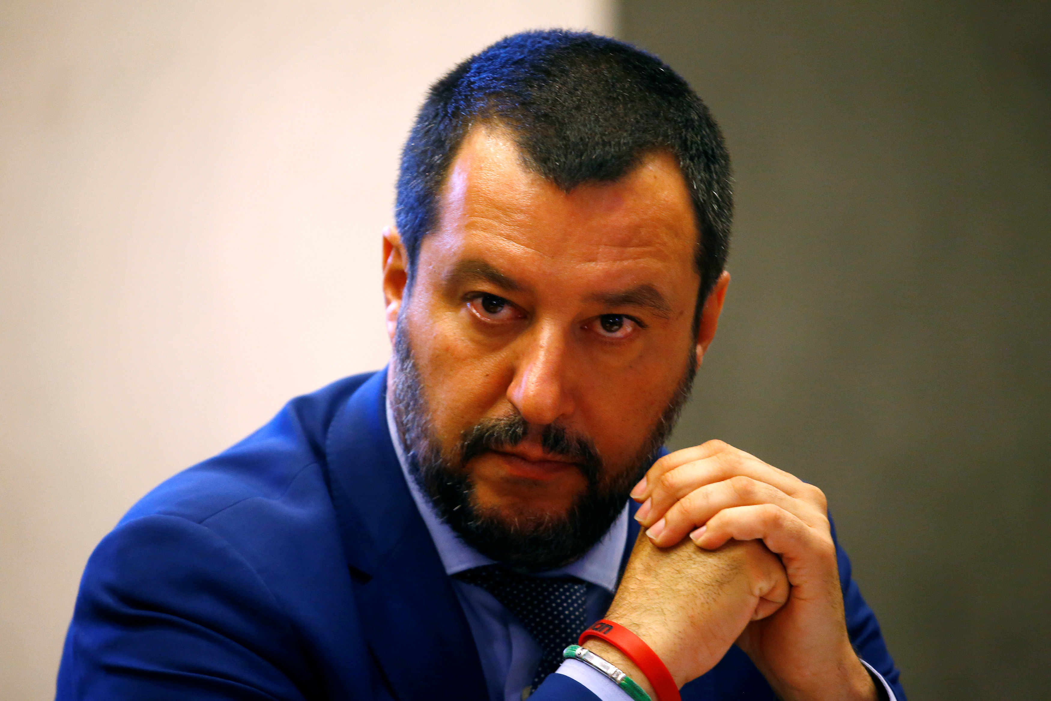 Salvini suggests migrant centres on Libya's southern borders