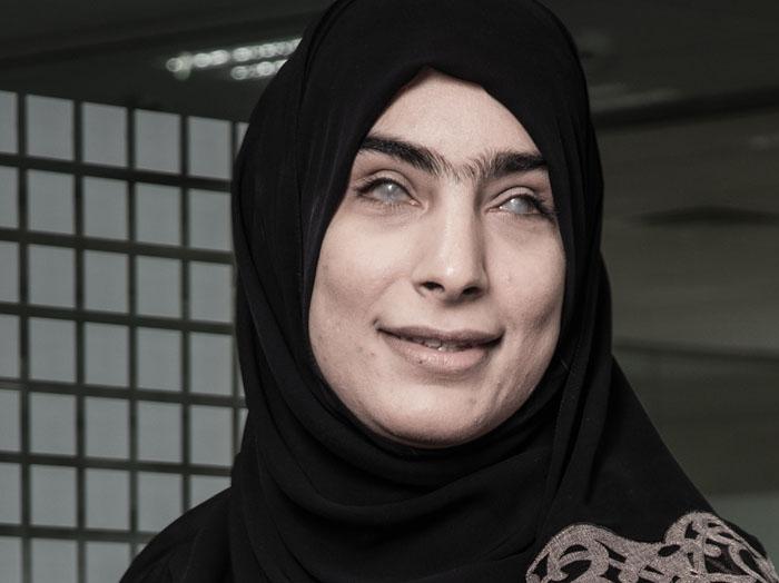 Shaikha Al Jassasi becomes first visually-impaired woman with MBA degree