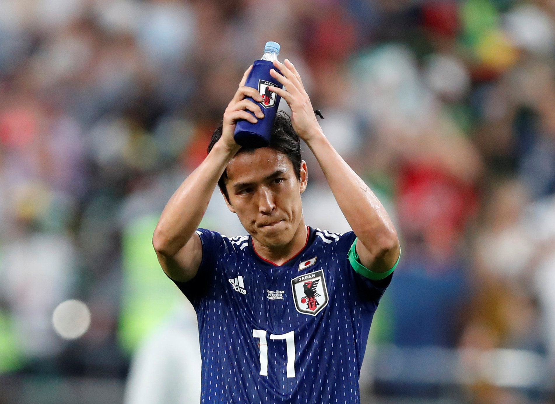 Football: Japan focus on winning not drawing, says captain Hasebe