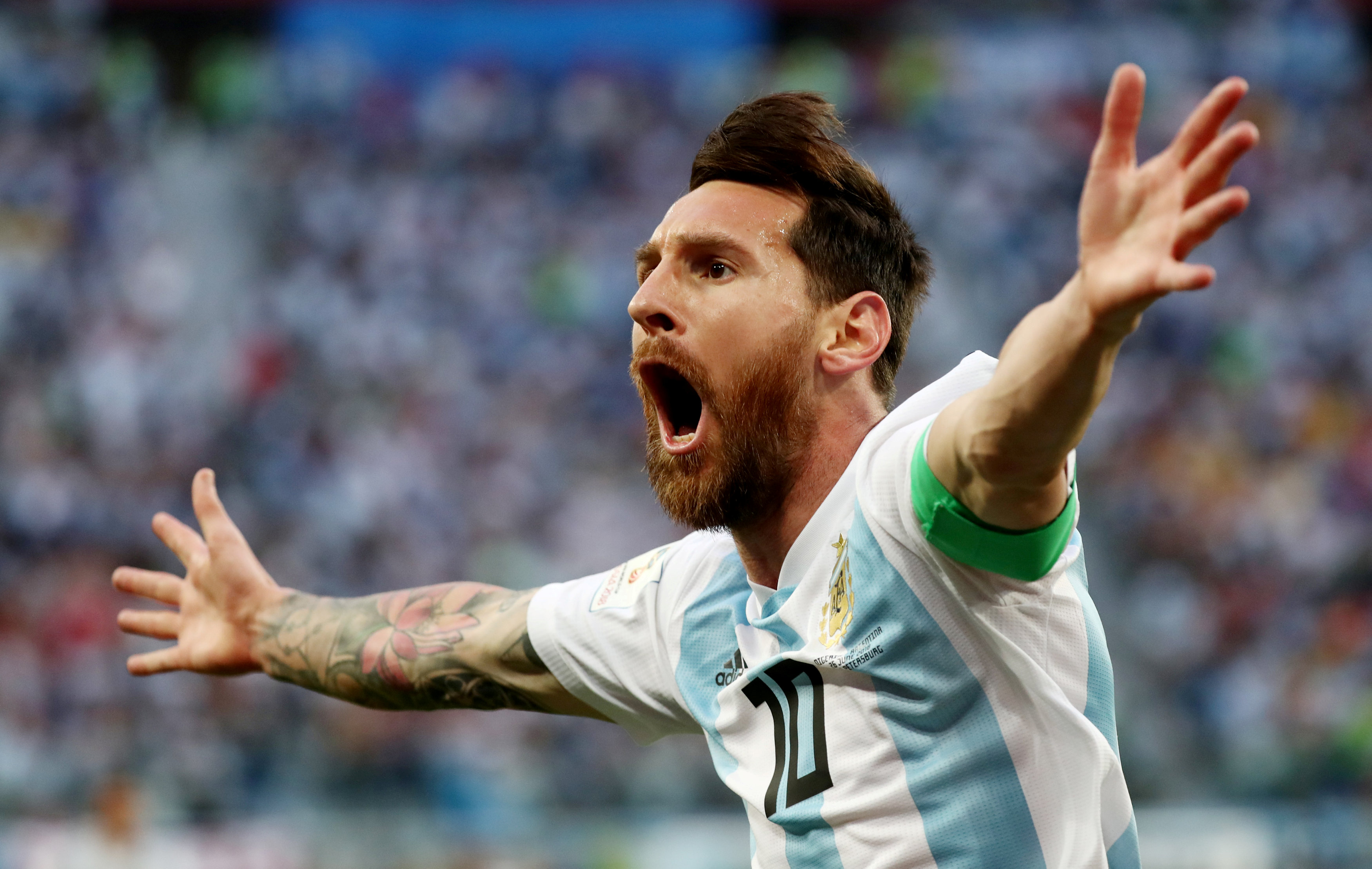 Football: Relieved Messi grateful at surviving Nigeria ordeal