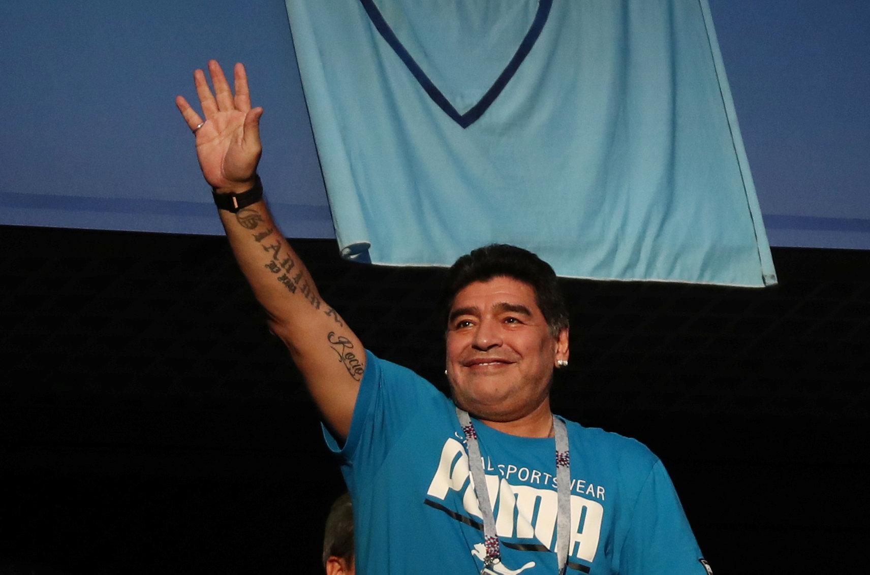 Football: Maradona 'fine' after health scare
