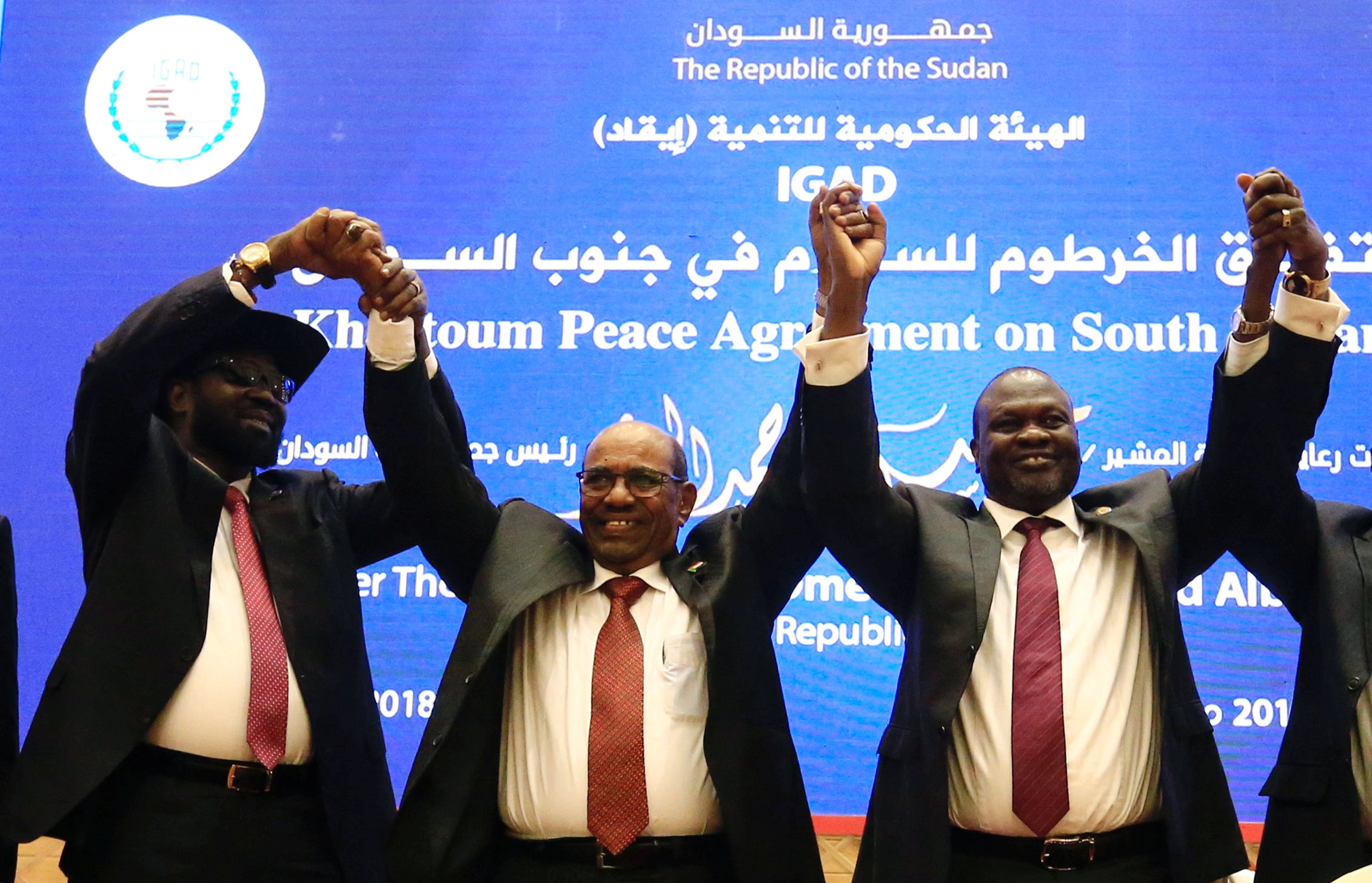 South Sudan rivals sign peace deal to end war