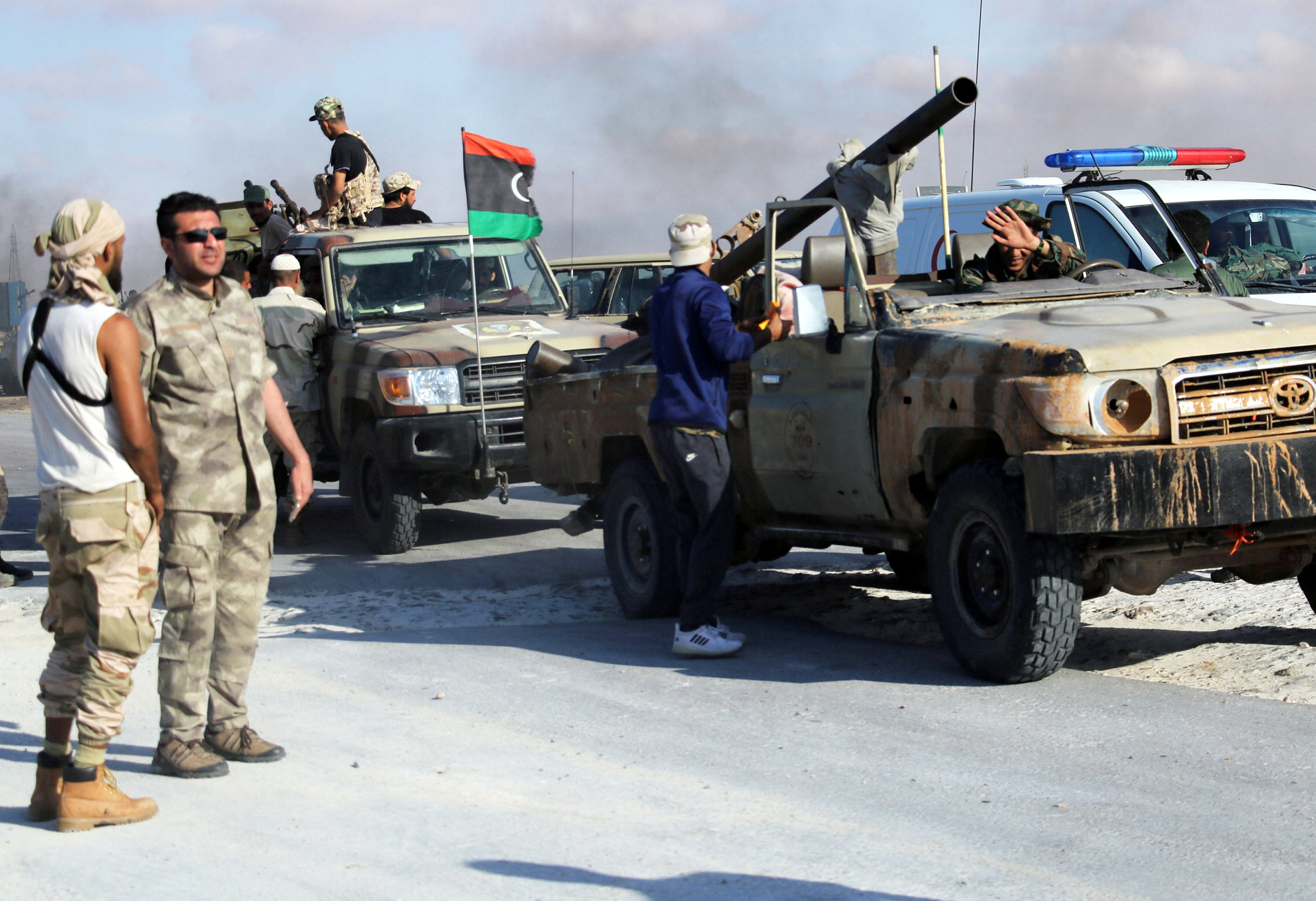 Residence of Libyan deputy PM attacked
