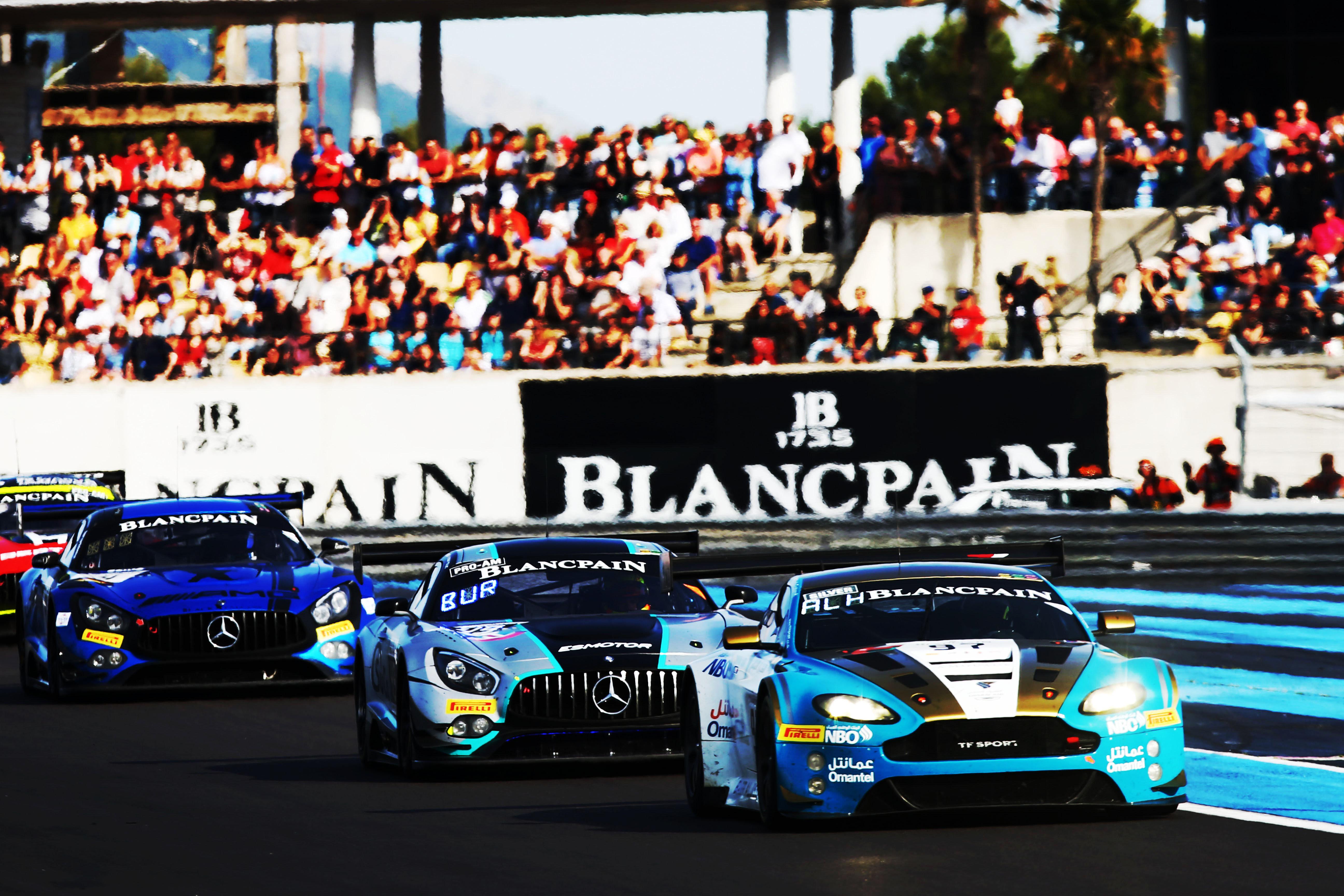 في بطولة بلانك بان بفرنسا عمان لسباقات السيارات رابعاً بالكأس الفضية