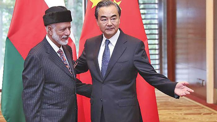 Alawi, Wang Yi discuss cooperation as China-Arab Forum held in Beijing
