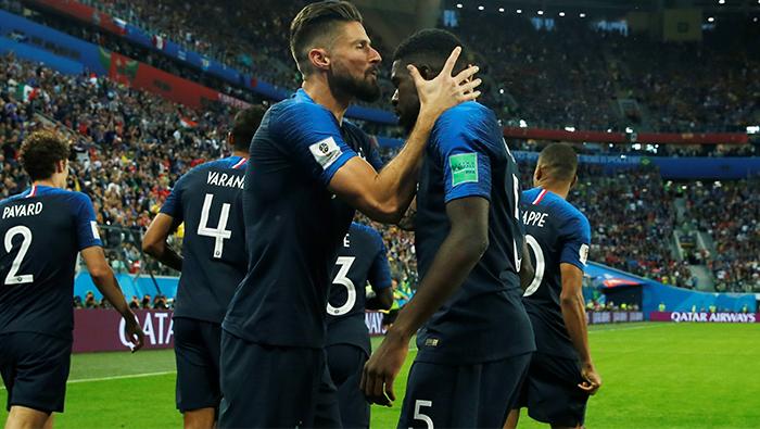 Football: Umtiti header sends France into World Cup final