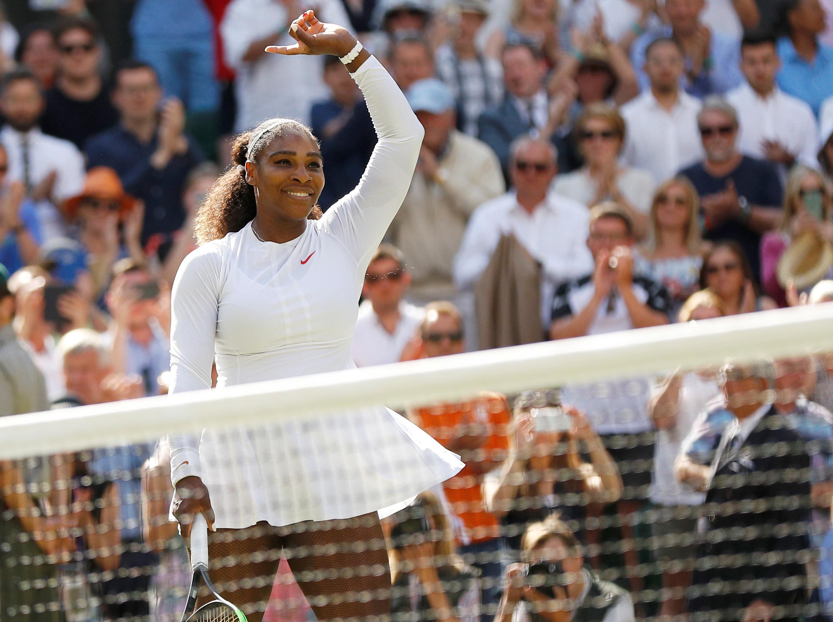 Tennis: Serena keeps calm and rolls past Giorgi