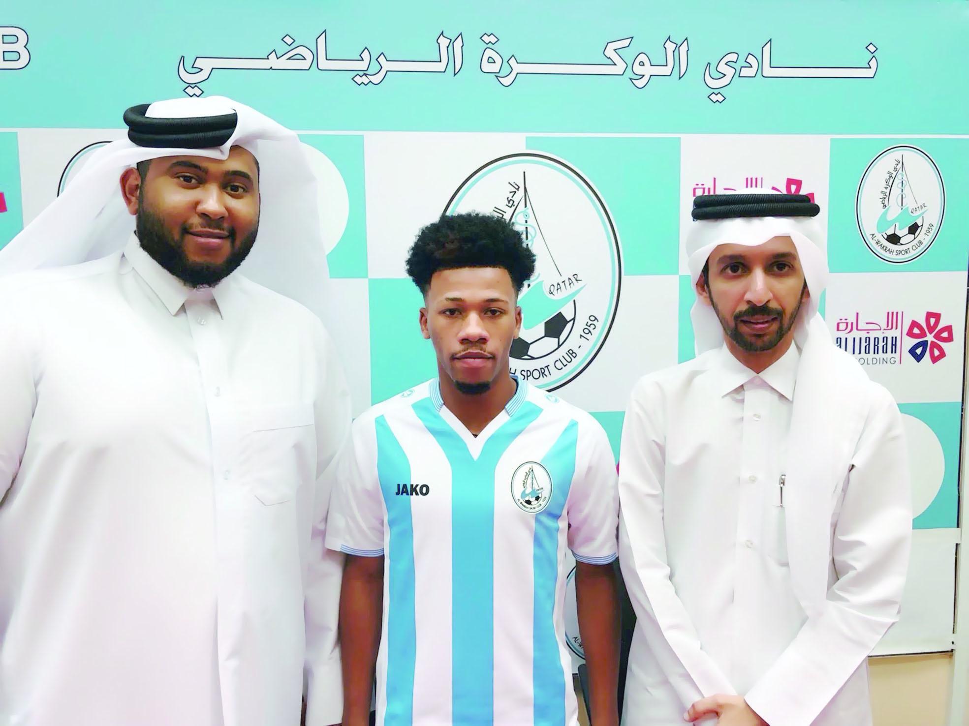 جميل اليحمدي يصل الدوحة لتمثيل الوكرة