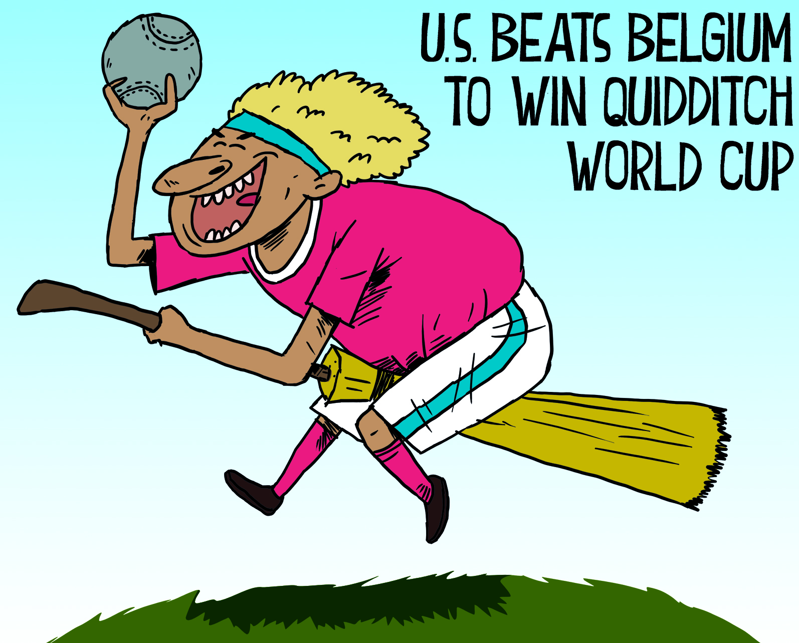 US wins Quidditch World Cup