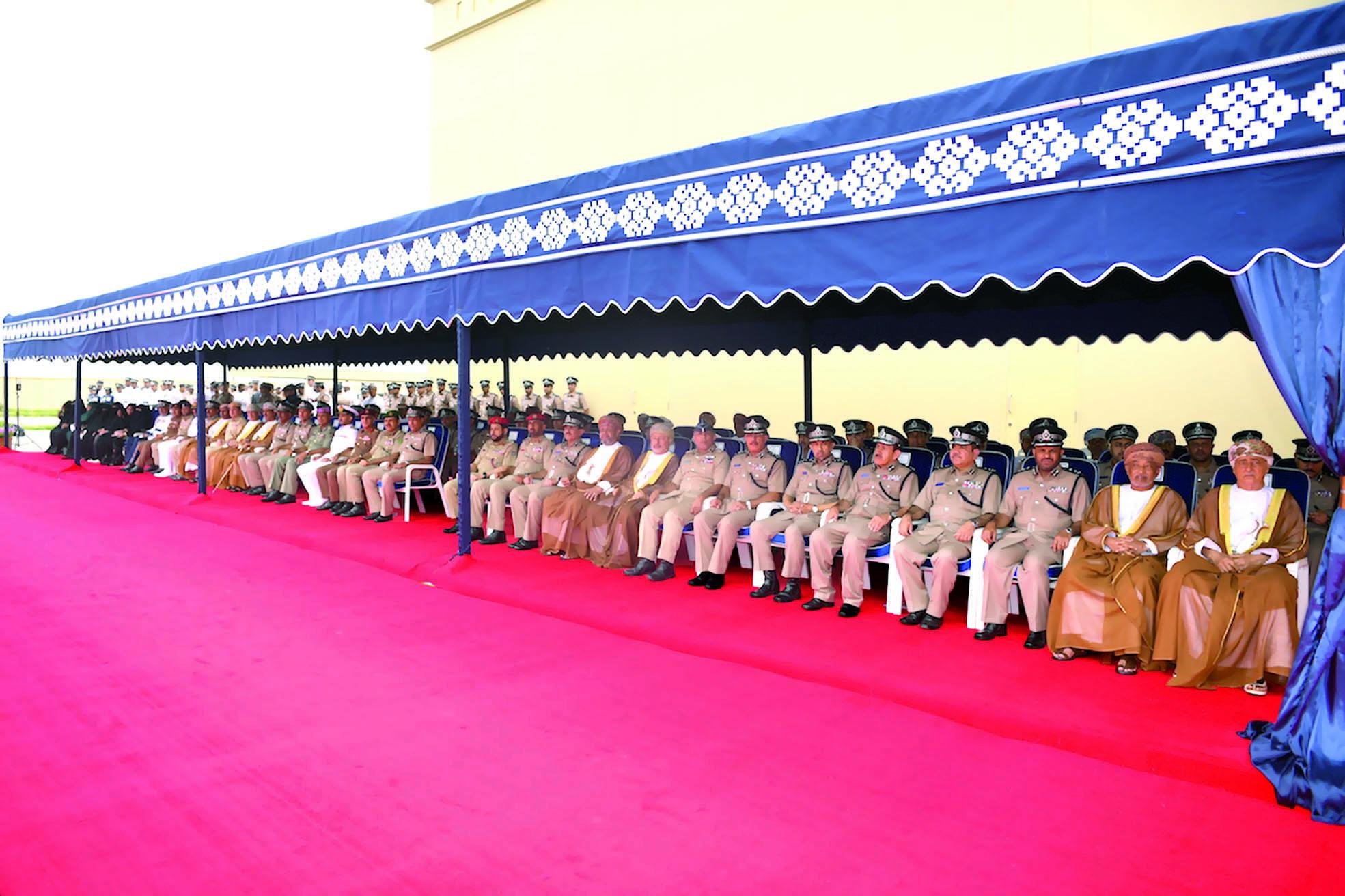 الاحتفال بافتتاح المبنى الجديد لمركز شرطة طاقة