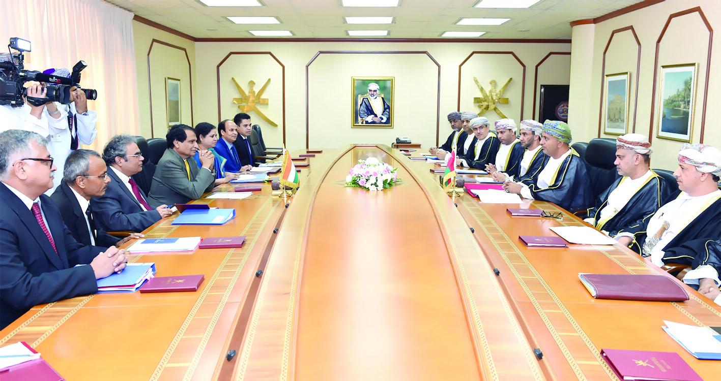 تعزيز الاستثمارات في صدارة الأجندة «العمانية - الهندية»