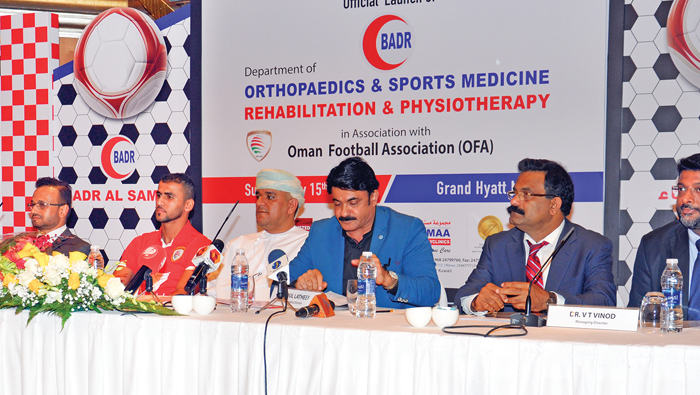 Athletes can now get treated in Oman