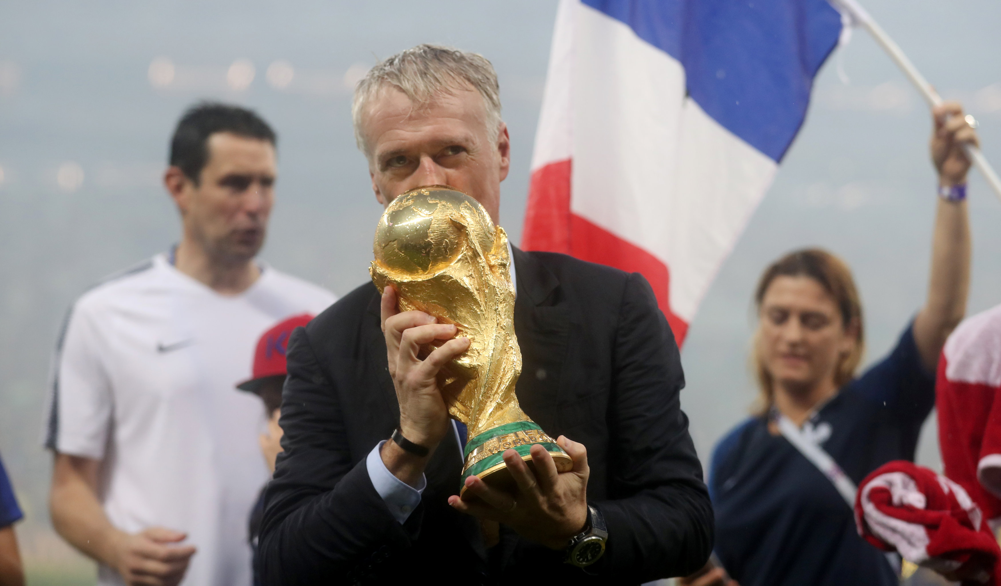 Football: Mental strength paid off for France, says Deschamps