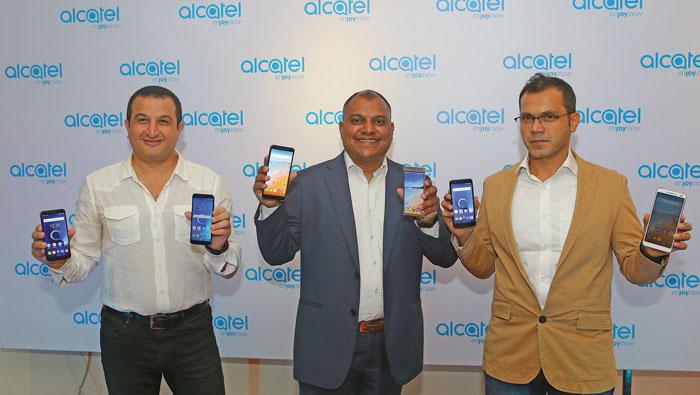 Mobile company Alcatel launches three smartphones in Oman