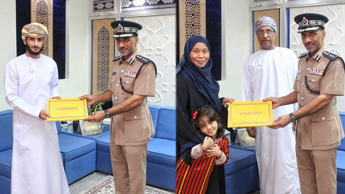 Citizen, expat honoured for their rescue efforts in Oman